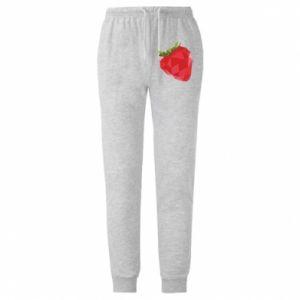 Męskie spodnie lekkie Strawberry graphics