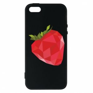 Etui na iPhone 5/5S/SE Strawberry graphics