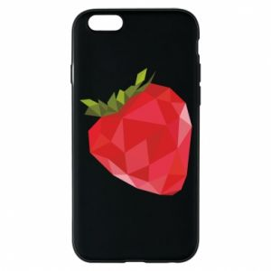 Etui na iPhone 6/6S Strawberry graphics