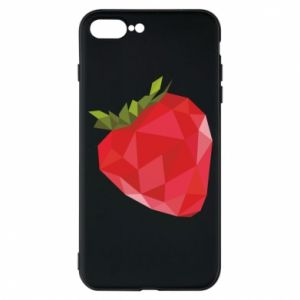 Etui na iPhone 7 Plus Strawberry graphics