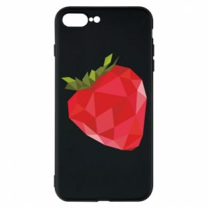 Etui na iPhone 8 Plus Strawberry graphics