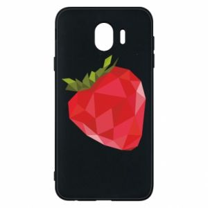 Etui na Samsung J4 Strawberry graphics