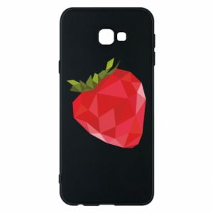 Etui na Samsung J4 Plus 2018 Strawberry graphics