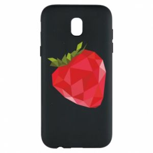 Etui na Samsung J5 2017 Strawberry graphics