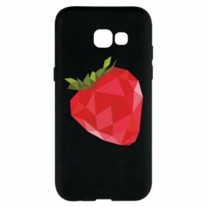 Etui na Samsung A5 2017 Strawberry graphics