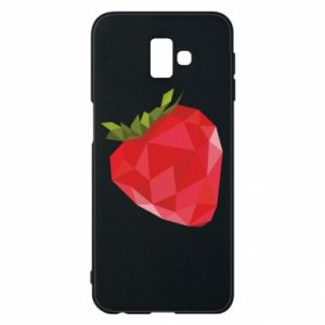 Etui na Samsung J6 Plus 2018 Strawberry graphics