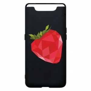 Etui na Samsung A80 Strawberry graphics