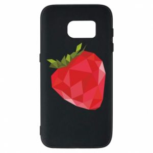 Etui na Samsung S7 Strawberry graphics