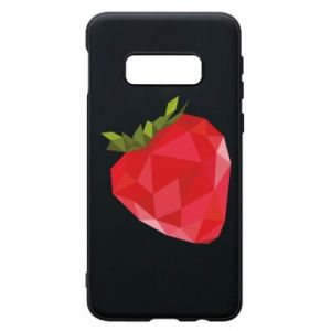 Etui na Samsung S10e Strawberry graphics