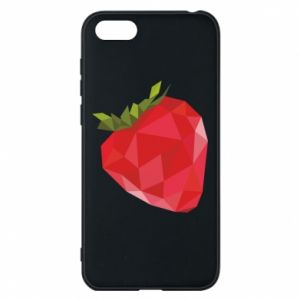 Etui na Huawei Y5 2018 Strawberry graphics