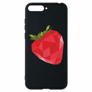 Etui na Huawei Y6 2018 Strawberry graphics