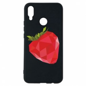 Etui na Huawei P Smart Plus Strawberry graphics
