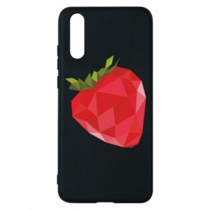Etui na Huawei P20 Strawberry graphics