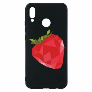 Etui na Huawei P20 Lite Strawberry graphics