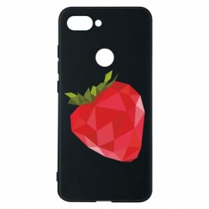 Etui na Xiaomi Mi8 Lite Strawberry graphics