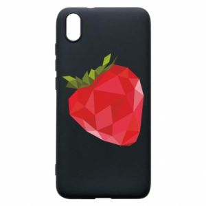 Etui na Xiaomi Redmi 7A Strawberry graphics