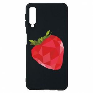 Etui na Samsung A7 2018 Strawberry graphics