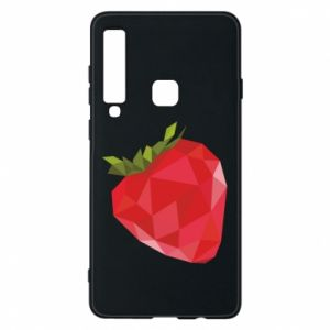 Etui na Samsung A9 2018 Strawberry graphics