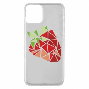 Etui na iPhone 11 Strawberry red graphics