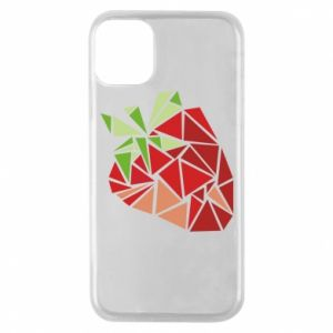 Etui na iPhone 11 Pro Strawberry red graphics