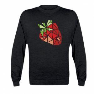 Bluza dziecięca Strawberry red graphics