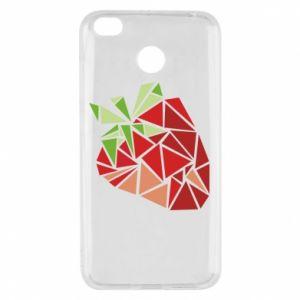 Etui na Xiaomi Redmi 4X Strawberry red graphics