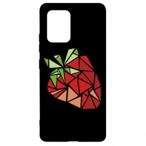 Etui na Samsung S10 Lite Strawberry red graphics