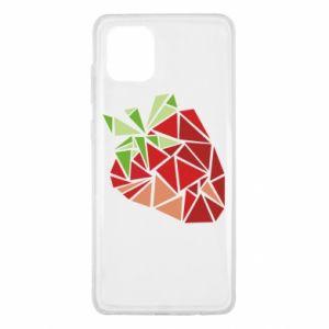 Etui na Samsung Note 10 Lite Strawberry red graphics