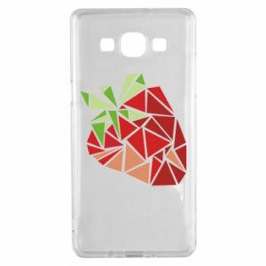 Etui na Samsung A5 2015 Strawberry red graphics