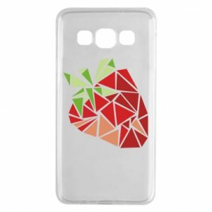 Etui na Samsung A3 2015 Strawberry red graphics