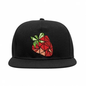 Snapback Strawberry red graphics