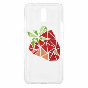 Etui na Nokia 2.3 Strawberry red graphics