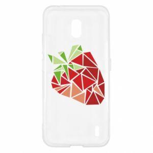 Etui na Nokia 2.2 Strawberry red graphics