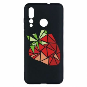 Etui na Huawei Nova 4 Strawberry red graphics