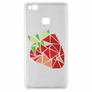 Etui na Huawei P9 Lite Strawberry red graphics