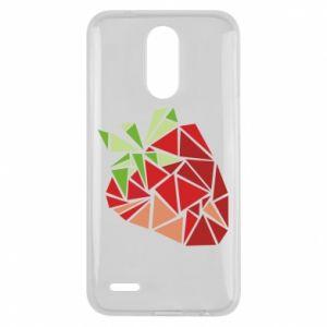 Etui na Lg K10 2017 Strawberry red graphics