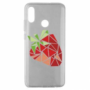 Etui na Huawei Honor 10 Lite Strawberry red graphics