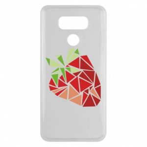 Etui na LG G6 Strawberry red graphics
