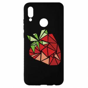 Etui na Huawei P Smart 2019 Strawberry red graphics