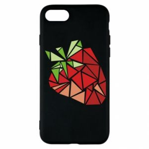 Etui na iPhone SE 2020 Strawberry red graphics