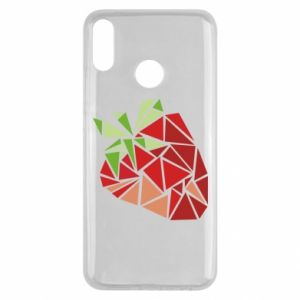 Etui na Huawei Y9 2019 Strawberry red graphics