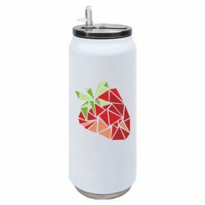 Puszka termiczna Strawberry red graphics