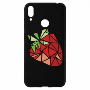 Etui na Huawei Y7 2019 Strawberry red graphics
