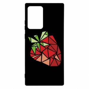 Etui na Samsung Note 20 Ultra Strawberry red graphics