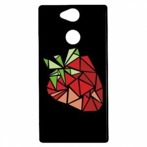 Etui na Sony Xperia XA2 Strawberry red graphics