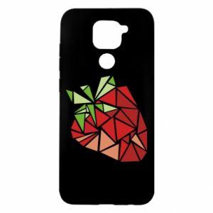 Etui na Xiaomi Redmi Note 9/Redmi 10X Strawberry red graphics
