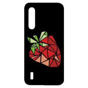 Etui na Xiaomi Mi9 Lite Strawberry red graphics
