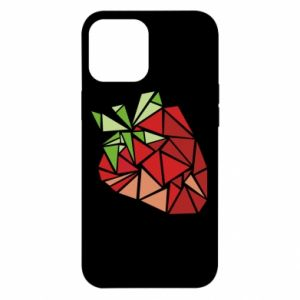 Etui na iPhone 12 Pro Max Strawberry red graphics