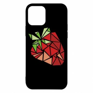 Etui na iPhone 12/12 Pro Strawberry red graphics