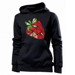 Bluza damska Strawberry red graphics